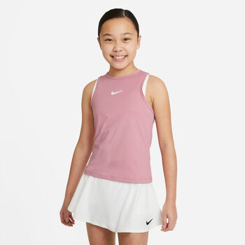 Nike Court Dri-FIT Victory top Roze