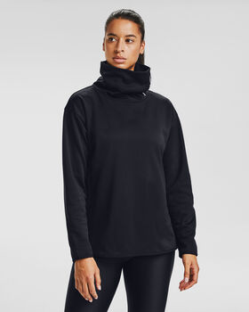 Under Armour Armour Fleece® Funnel Neck hoodie Dames Zwart