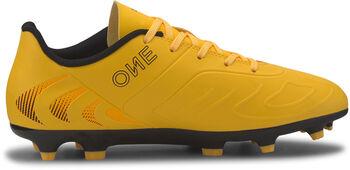 Puma ONE 20.4 FG/AG Jr voetbalschoenen Geel