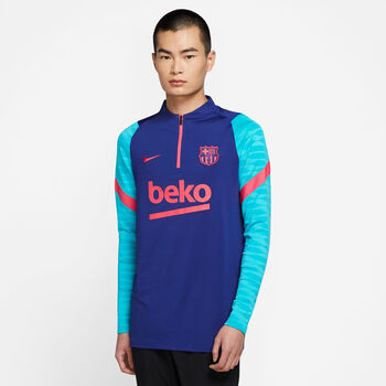Nike FC Barcelona Dry Strike Drill shirt Heren