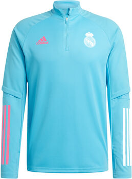 adidas Real Madrid trainingsshirt 20/21 Heren Blauw