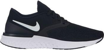Nike Odyssey React Flyknit 2 hardloopschoenen Dames Zwart