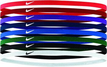 Nike Skinny haarbandjes 8-pack Rood