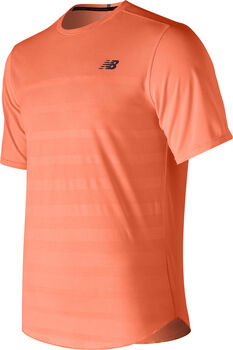 New Balance Q Speed Jacquard shirt Heren Oranje