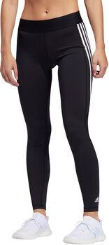 adidas Alphaskin 3-Stripes tight Dames Zwart