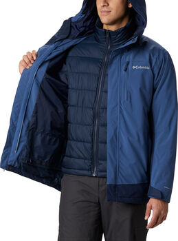 Columbia Lhotse 3-in-1 jas Heren Blauw