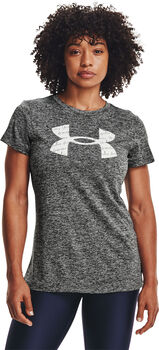 Under Armour Tech Twist t-shirt Dames Grijs