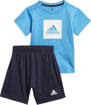 ADIDAS Logo zomersetje Meisjes Blauw