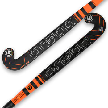 Brabo TC-3 zaalhockeystick Heren Zwart