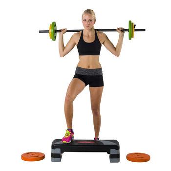 tunturi aerobic step compact Zwart