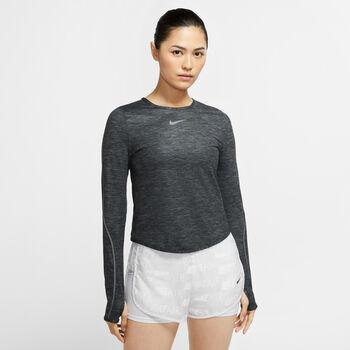 Nike Running longsleeve Dames Grijs