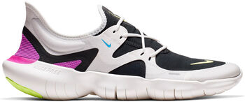 Nike Free Run 5.0 hardloopschoenen Heren Wit