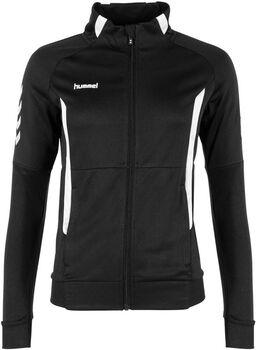Hummel Authentic Polyester Full-Zip trainingsjack Heren Zwart