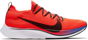 Nike Vaporfly 4% Flyknit hardloopschoenen Heren Rood