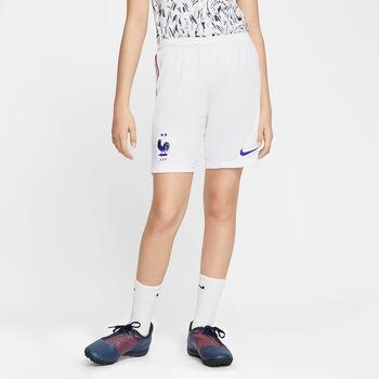 Nike Frankrijk 2020 Stadium thuis/uit kids short Wit