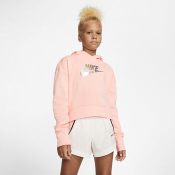 Nike Sportswear Crop kids sweater Meisjes Rood