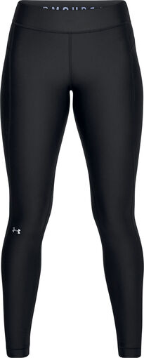 Under Armour - HeathGear Armour tight - Dames - Tights - Zwart - XL