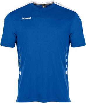 Hummel Valencia t-shirt Heren Blauw