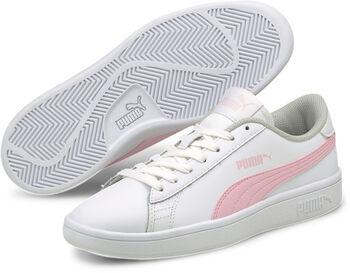 Puma Smash V2 kids sneakers Wit