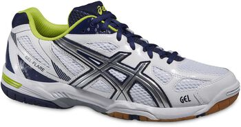 ASICS GEL-Flare 5 indoorschoenen Heren Wit