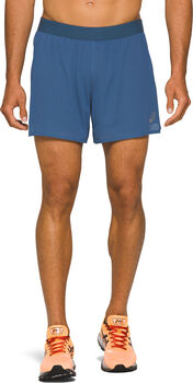 Asics Ventilate 2-in-1 short Heren Blauw
