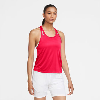 Nike Miler top Dames Rood