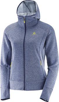 Salomon Right Nice Mid hoodie Dames Blauw