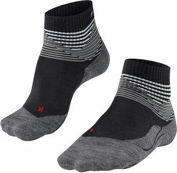 Falke TK5 Short Offset sokken Heren Zwart