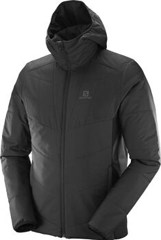 Salomon Drifter Mid hoodie Heren Zwart