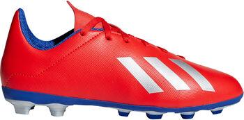 0130d8aa054 ADIDAS X 18.4 FxG voetbalschoenen Rood