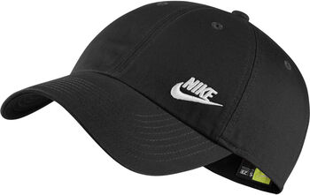 Nike Sportswear Heritage86 cap Dames Zwart