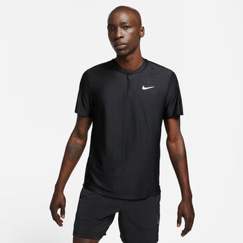 Nike Court Breatch Advantage polo Heren Zwart
