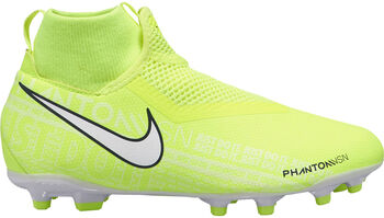 Nike Phantom Vision Academy DF FG/MG jr voetbalschoenen Jongens Geel