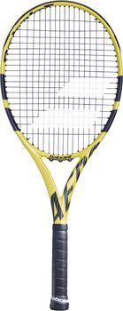 Babolat Aero G Strung tennisracket Geel