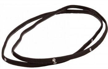 Brabo 5mm 2-pack haarelastiek Zwart