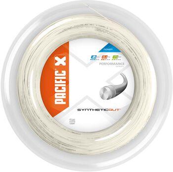 Pacific Synthetic Gut 200M - 1.30 mm tennissnaar Wit