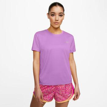 Nike Miler shirt Dames Paars