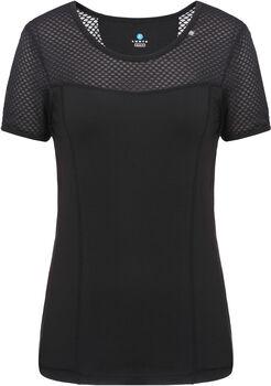 Luhta Carita shirt Dames Zwart
