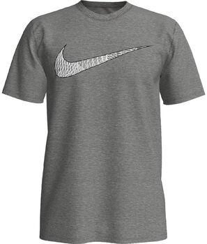 Nike Dry Swoosh shirt Heren Grijs