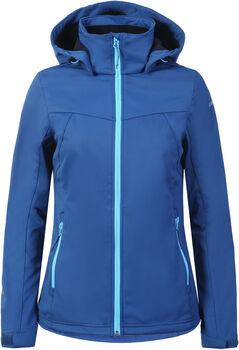 Icepeak Boise Softshell jas Dames Blauw