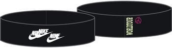 Nike World Tour Fury Printed hoofdband Zwart