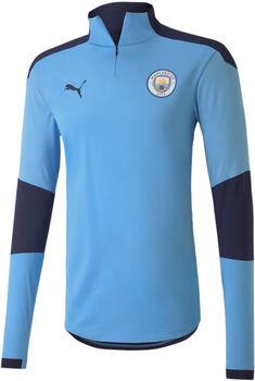 Puma Manchester City 1/4 Zip top Heren Blauw