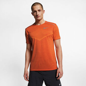 Nike Techknit CL Ultra shirt Heren Oranje