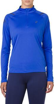 Asics Icon 1/2 Zip longsleeve Dames Blauw