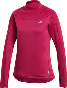 adidas Own the Run Warm Cover-Up Dames Paars