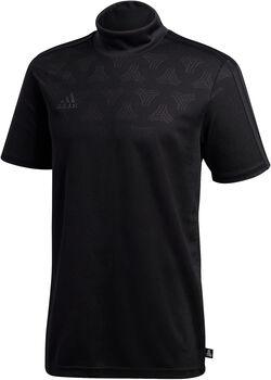 ADIDAS Tango Jacquard voetbalshirt Heren Zwart