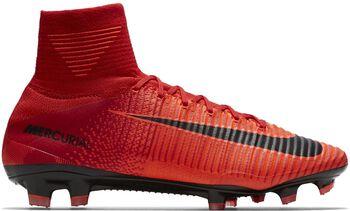 Nike Mercurial Superfly V FG voetbalschoenen Rood