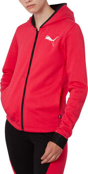 Puma Hooded Zip jack Dames Roze
