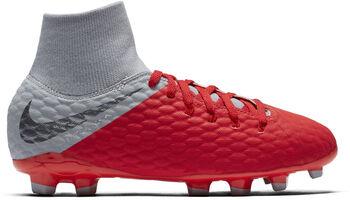 Nike Hypervenom Phantom 3 Academy Dynamic Fit FG jr voetbalschoenen Rood