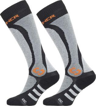 Sinner Pro sokken 2-pack Heren Zwart